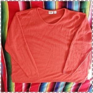 Cato Woman Burnt Orange Pullover Sweater